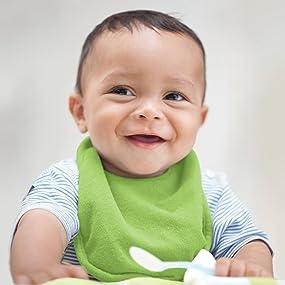 baby, toddler, infant, feeding, bibs, burp, wipes, terry, soft, organic