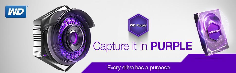 Amazon Com Wd Purple 4tb Surveillance Hard Disk Drive