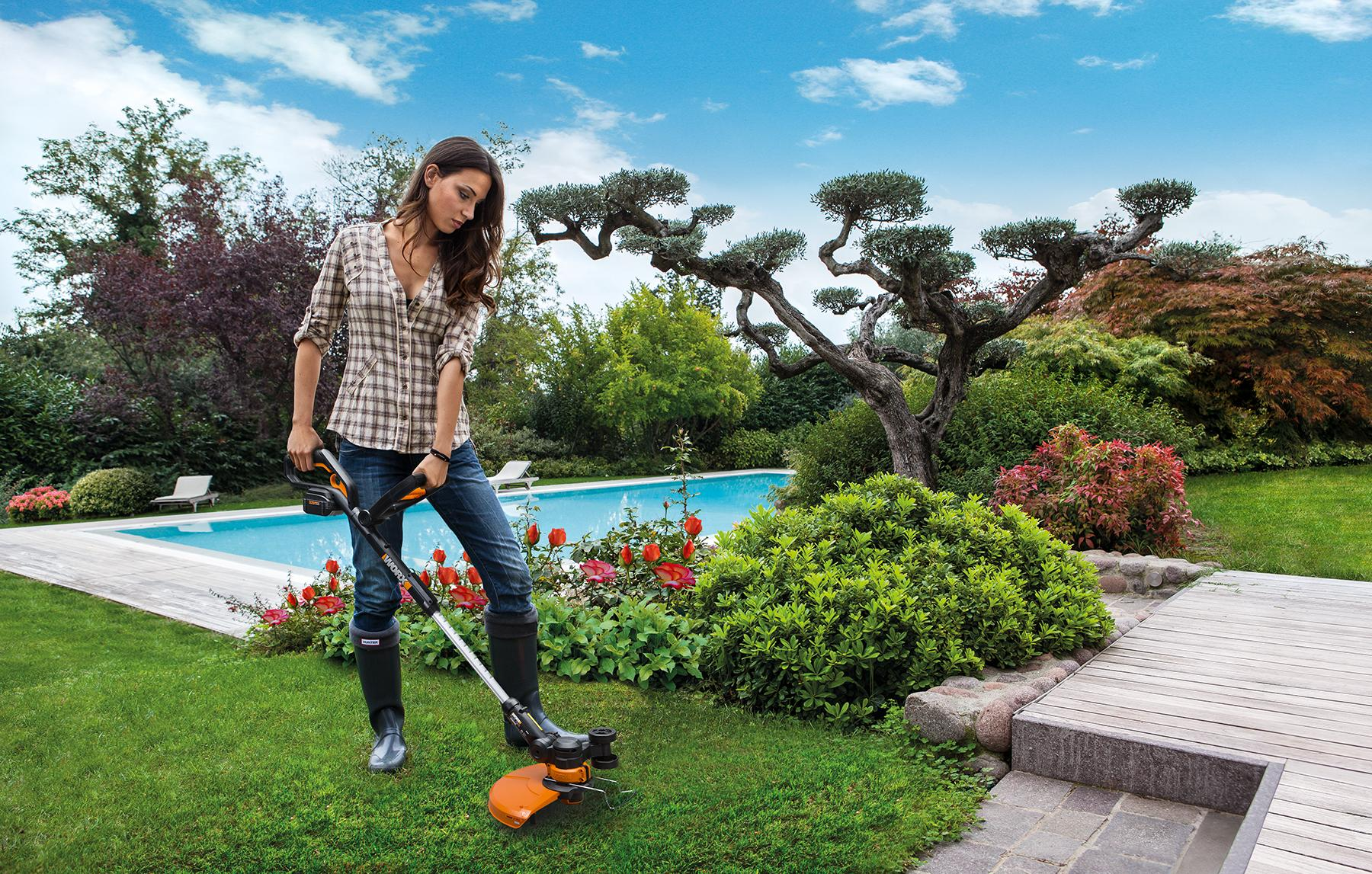 Amazon WORX 32 Volt GT2 0 String Trimmer Edger Mini Mower with
