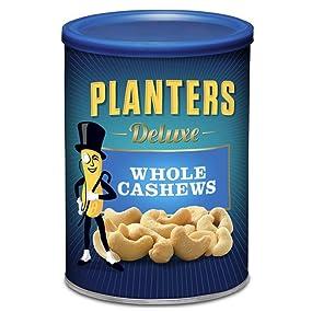 Planters Deluxe Whole Cashews