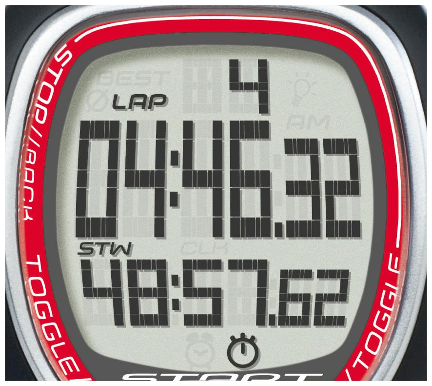 Sigma sport chronomètre sc 6.12