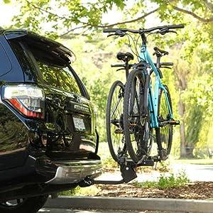 Swagman, chinook, 2 bike rack, hitch mounted bike rack, 2 carrier rack, carries two bikes,