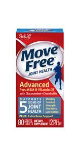 Move Free Glucosamine Chondroitin Plus MSM & Vitamin D3