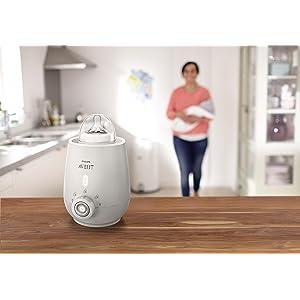 Philips Avent premium Bottle Warmer, baby bottle warmer, fast warmer, baby bottles, baby formula