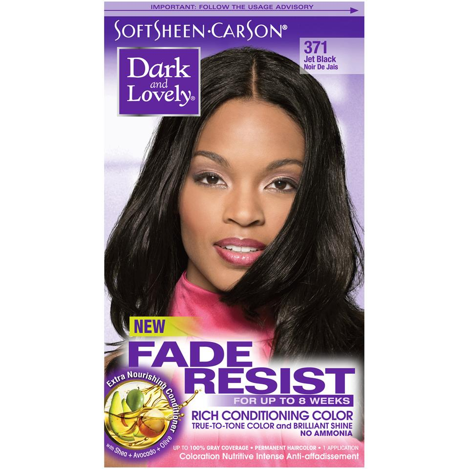 Amazon Dark Lovely Fade Resistant Jet Black Permanent Hair