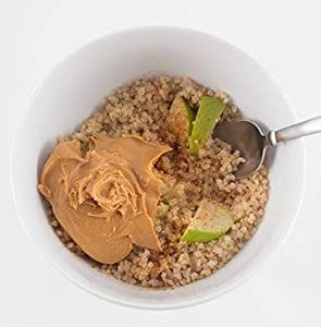 the bees knees peanut butter breakfast quinoa with apple and cinnamon