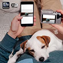Panasonic DC-GX850 - wifi social sharing