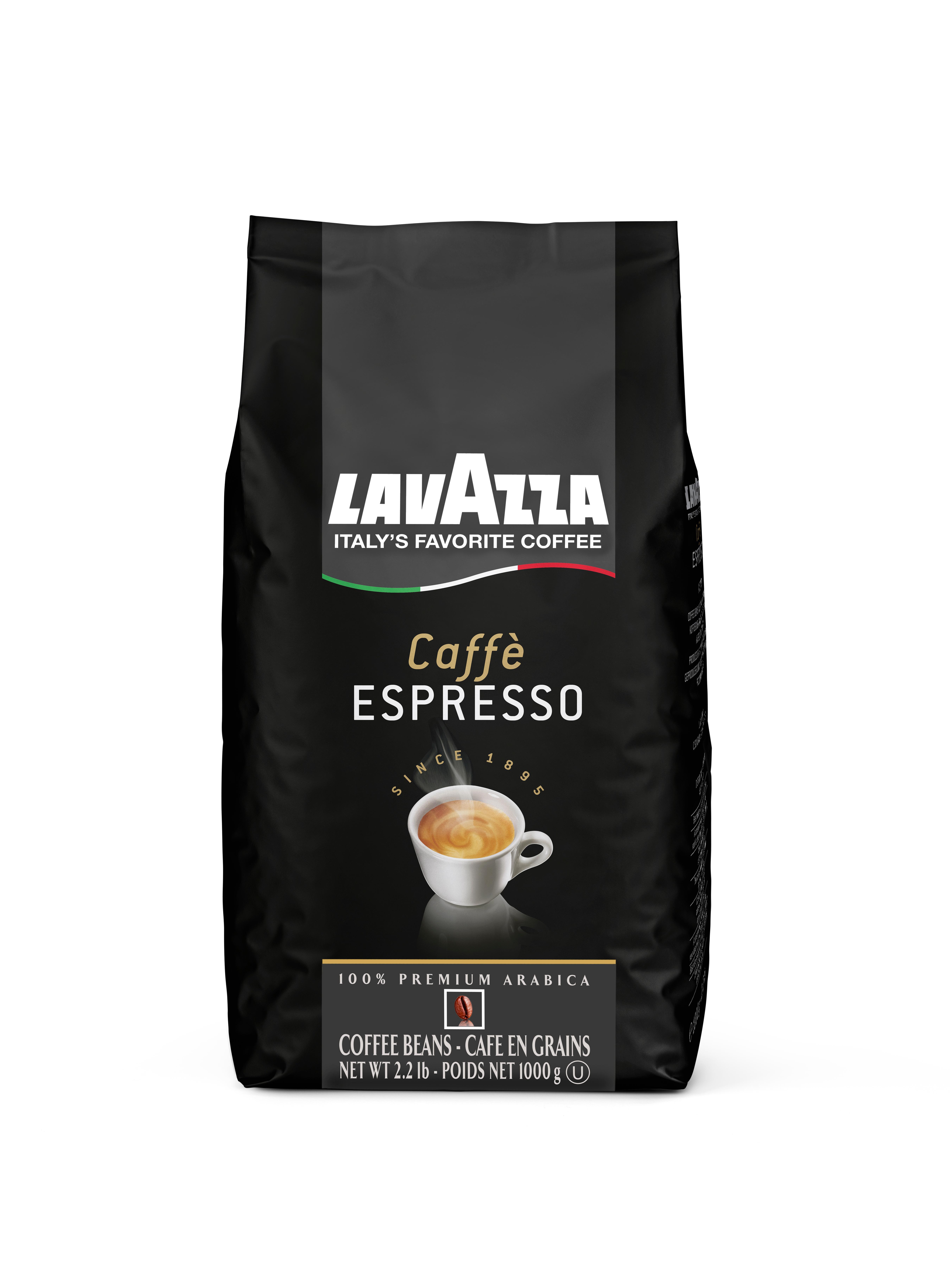Amazon.com : Lavazza Caffe Espresso 100% Premium Arabic ...