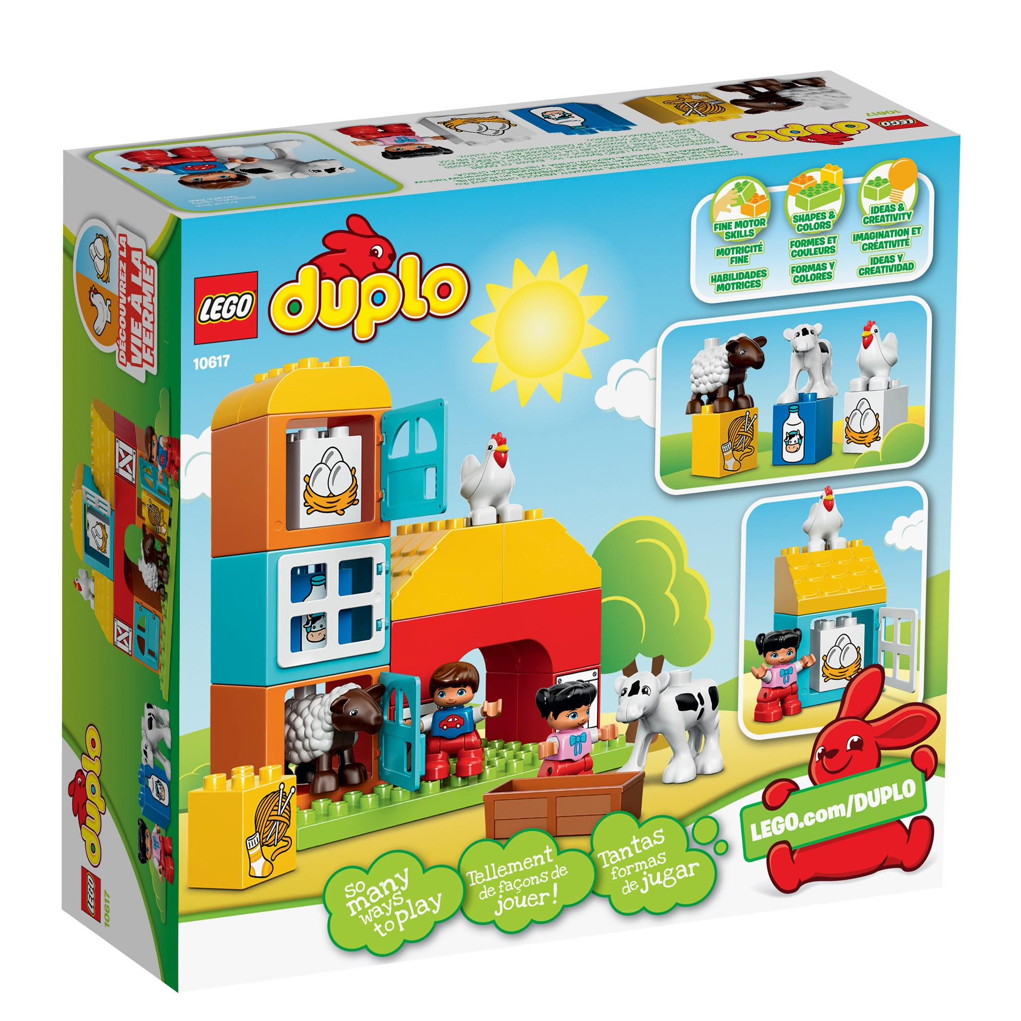 Target Toys For Boys Legos : Amazon lego duplo my first farm learning toy
