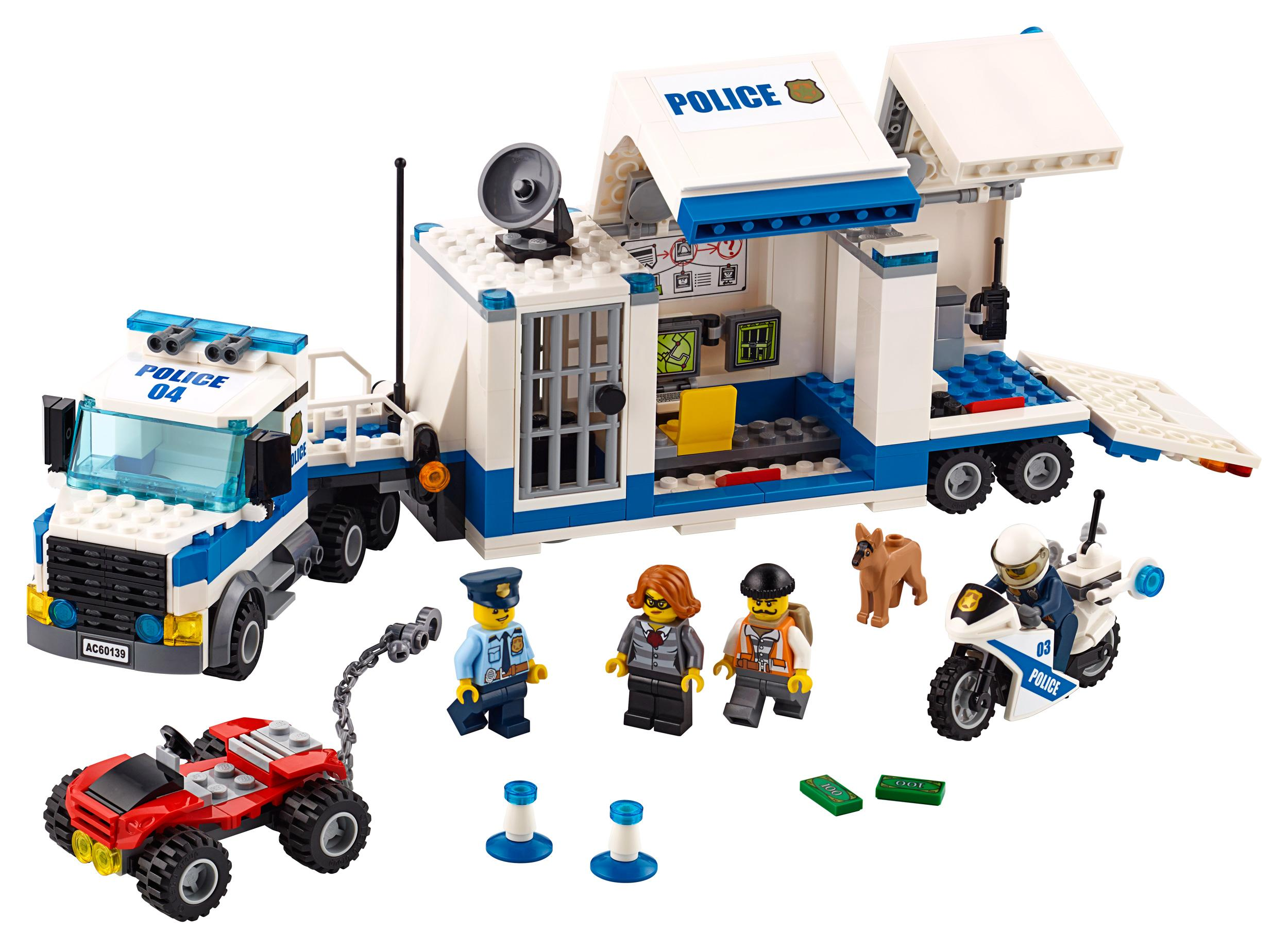 lego city police mobile command center truck. Black Bedroom Furniture Sets. Home Design Ideas