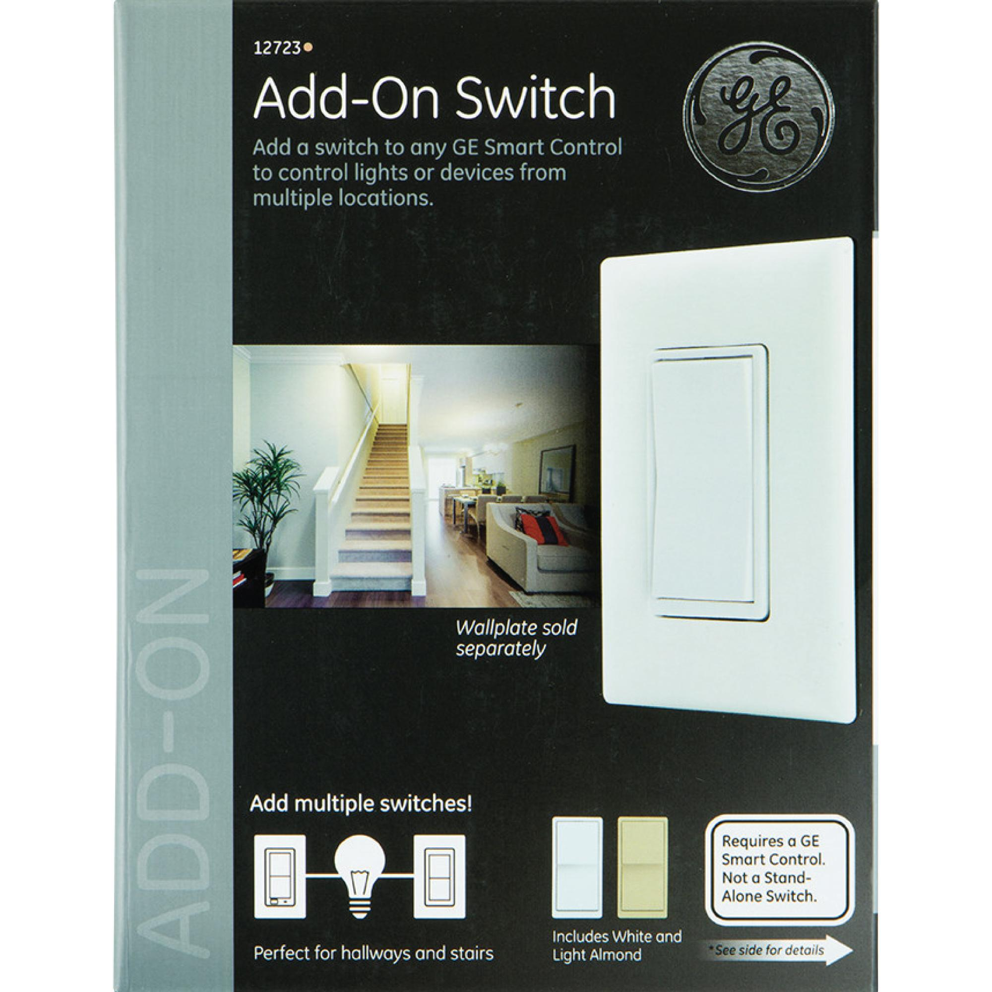 Ge Zwave Wireless Smart Lighting Control Appliance Module Onoff. The Ge Zwave Inwall Smart Switch Uses Existing Wiring To Remotely Control Onoff Functions Of Your Permanently Installed Lighting And Ceiling Fans. Smart. Add On Switch Wiring Ge Smart At Scoala.co