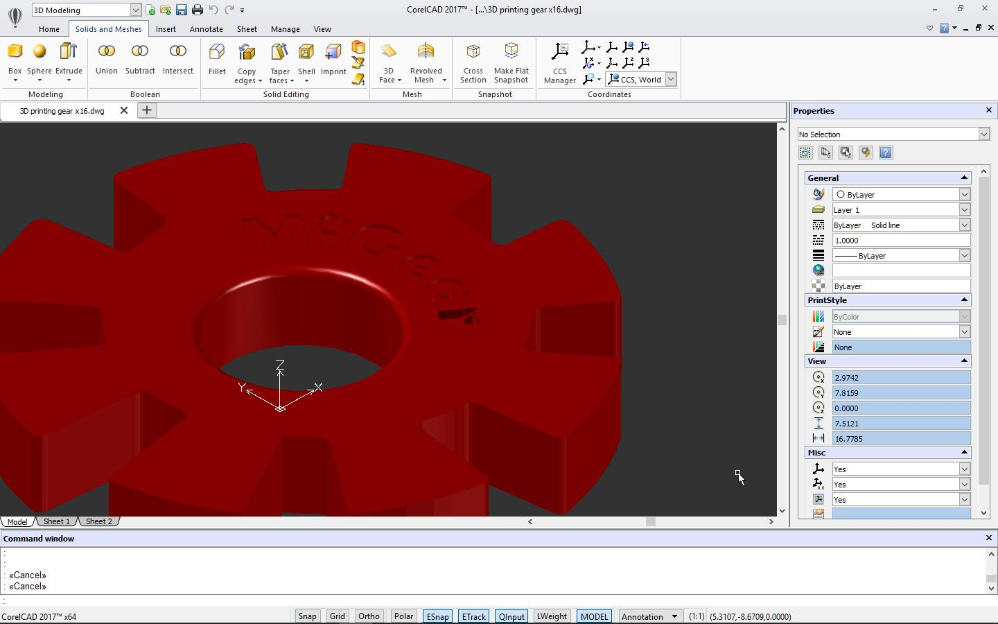 2d3d on shoppinder Free cad software for 3d printing