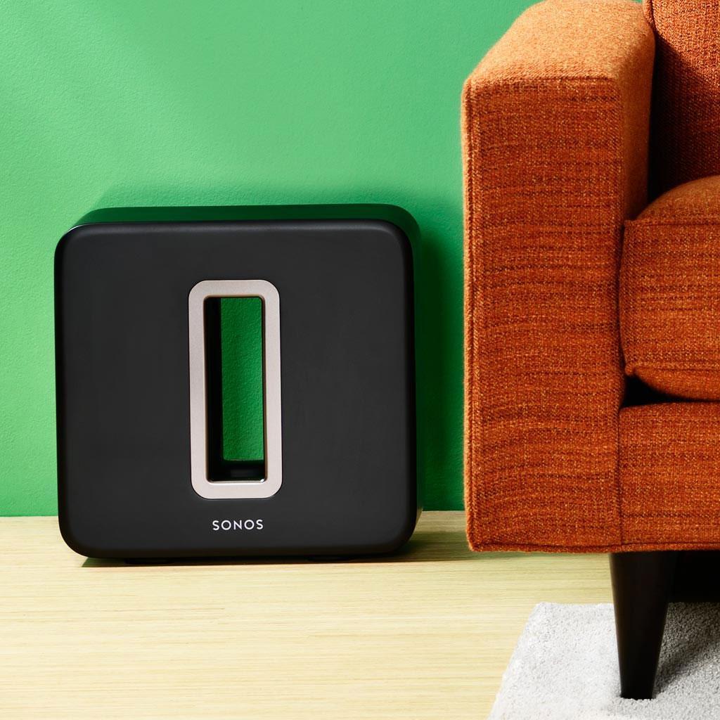 sonos sub wireless subwoofer matte black. Black Bedroom Furniture Sets. Home Design Ideas