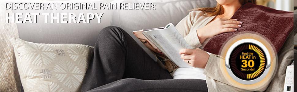 Sunbeam Massaging Renue Therapy Lavender dp BWKYS