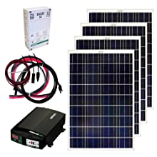 Amazon Com Grape Solar Gs 400 Kit 400 Watt Off Grid