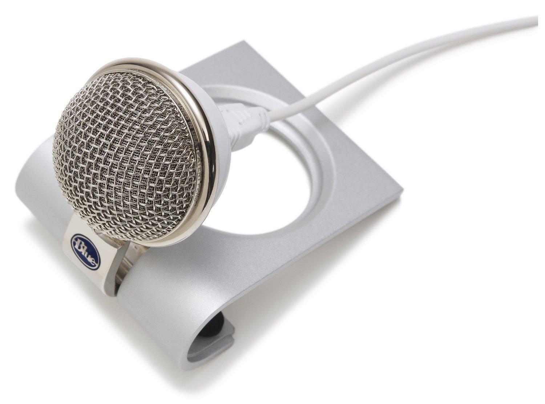 blue snowflake usb microphone musical instruments. Black Bedroom Furniture Sets. Home Design Ideas