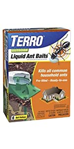 TERRO Outdoor Liquid Ant Bait 6 Pack