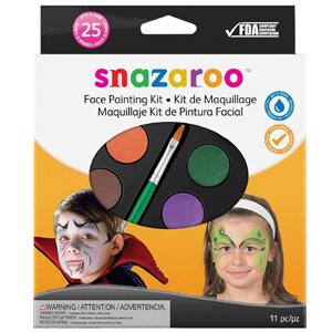 Snazaroo Face Paint Palette Kit Unisex