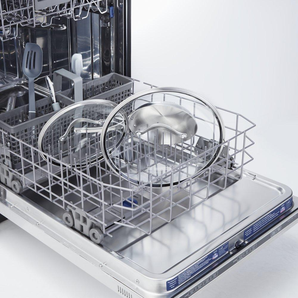 how to get glasses clean in dishwasher
