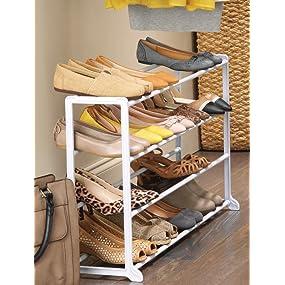 Shoe Storage, Shoe Rack, Shoe Shelf, Shoe Rack Organizer, Clothing Storage,