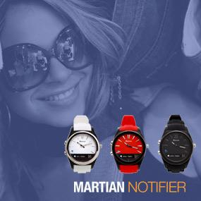 Martian Watches Notifier Smartwatch - Black 15