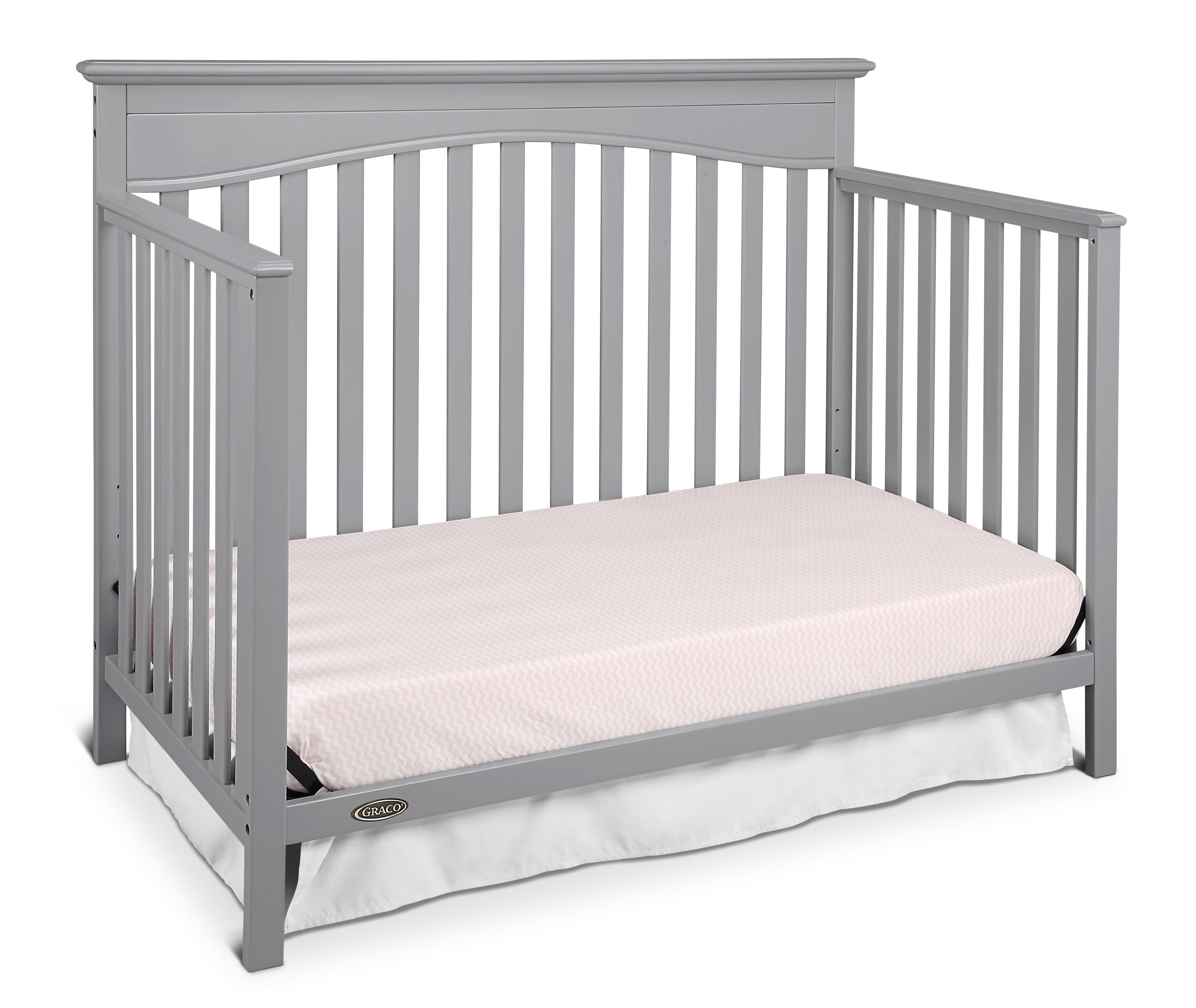 Amazon Com Graco Hayden 4 In 1 Convertible Crib Pebble