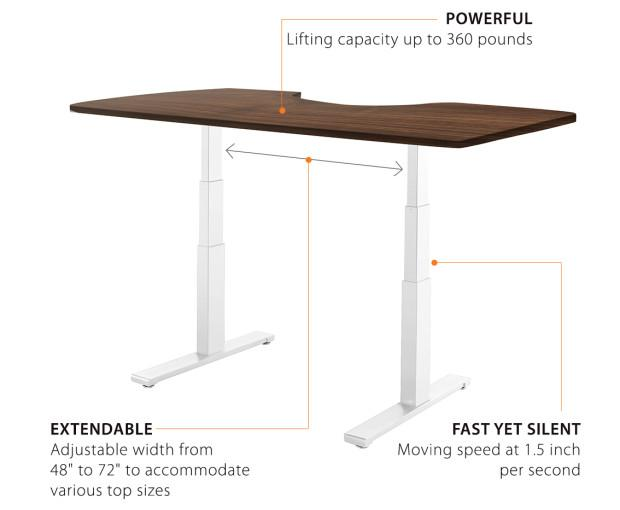 Amazon Com Autonomous Smartdesk Height Adjustable