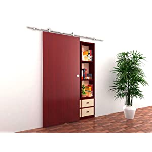 Amazon.com: TMS WoodenSlidingDoor-Hardware Modern Interior Sliding ...