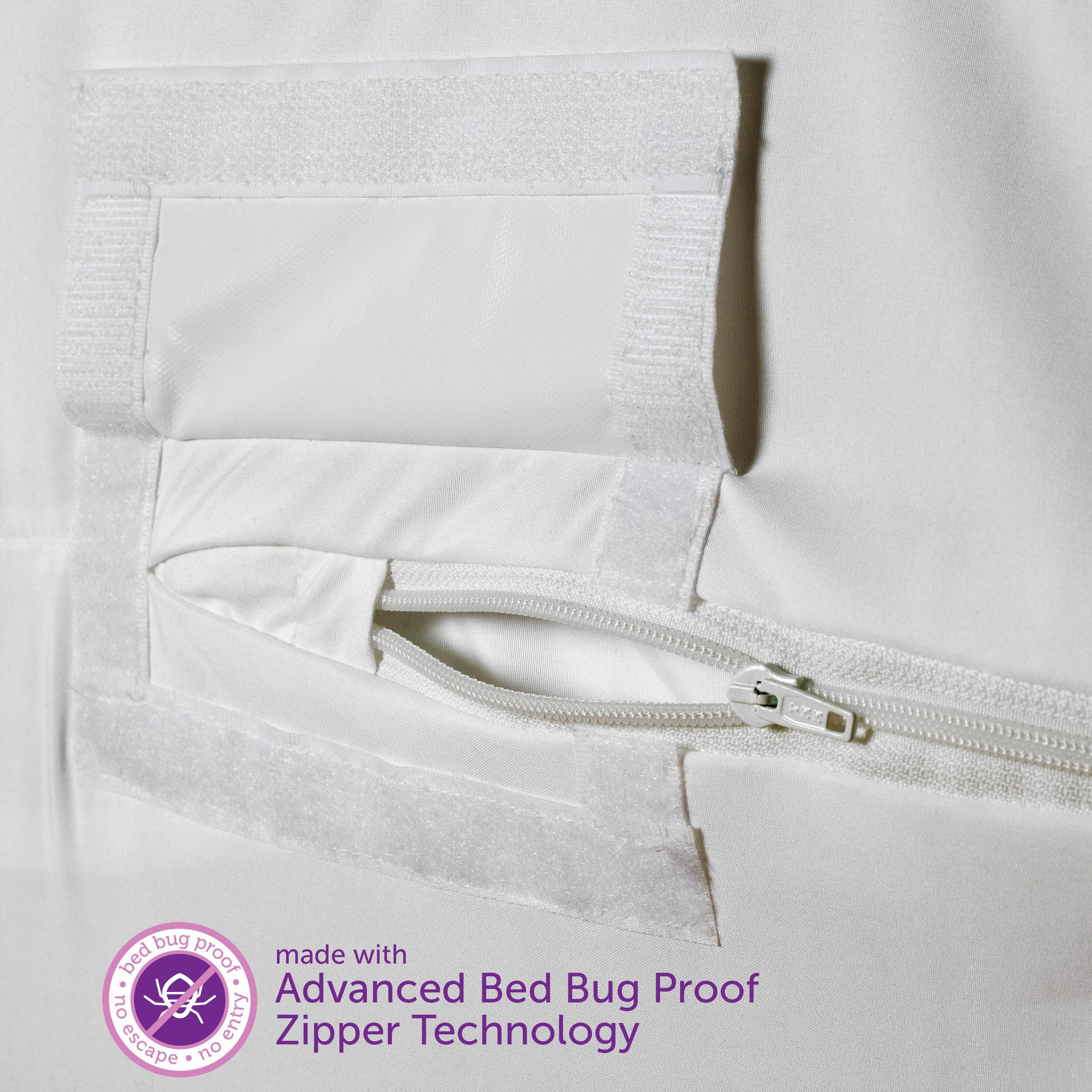 Amazon Com Allerease Bed Bug Allergy Protection Zippered Mattress