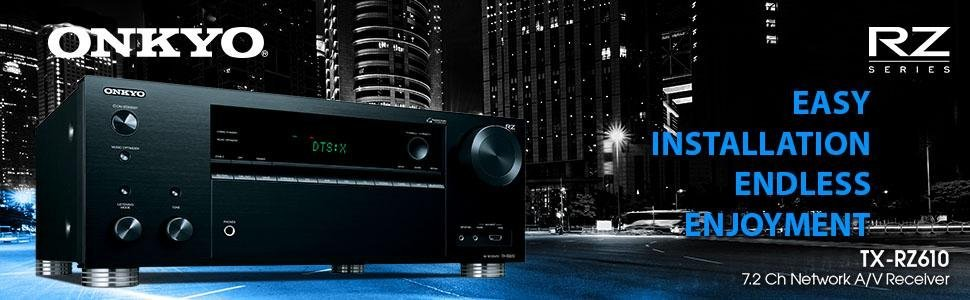 RZ610, onkyo, yamaha, audio, receiver, amp
