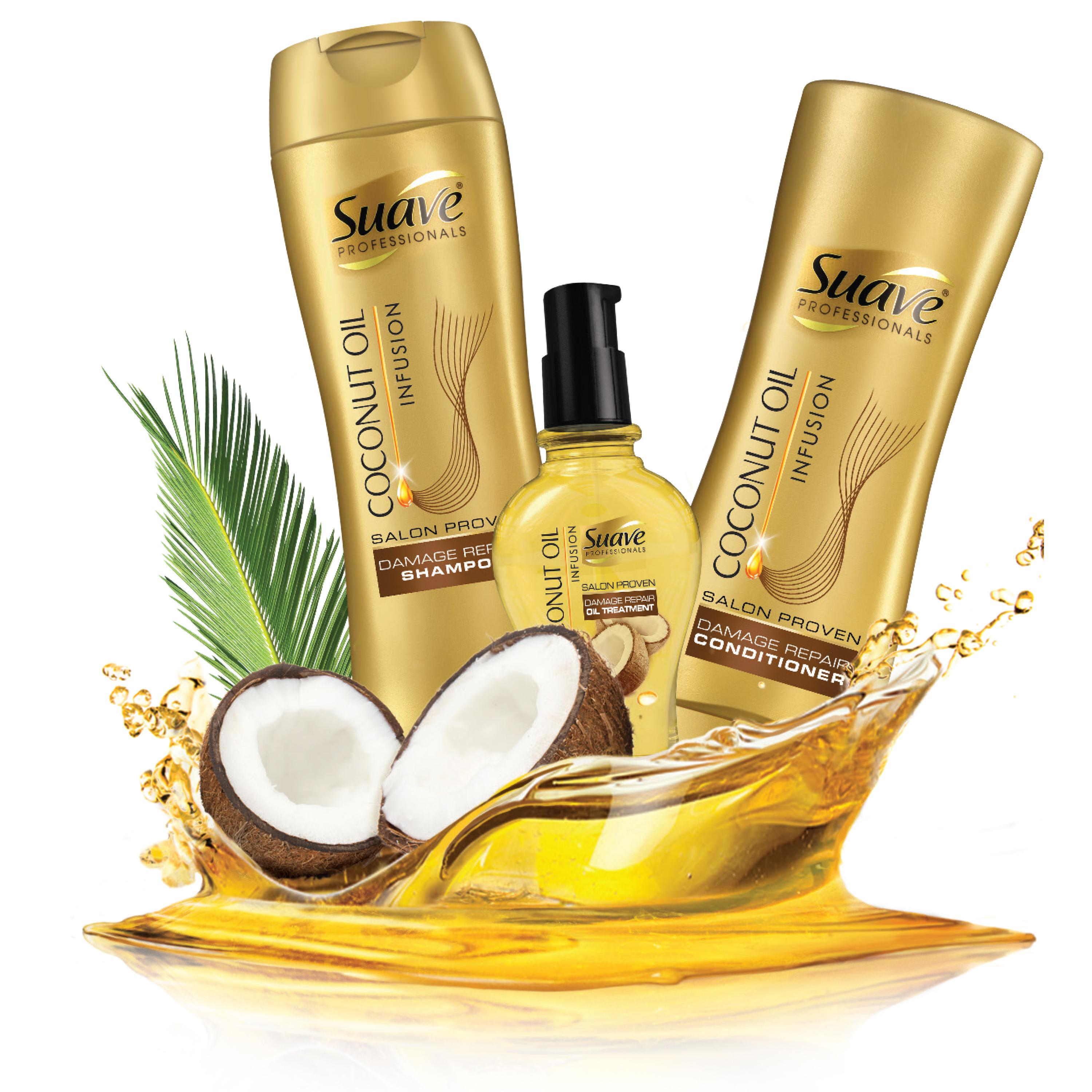 coconut for hair styling suave professionals damage repair 6860