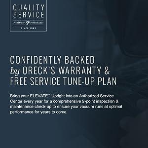 Oreck Warranty