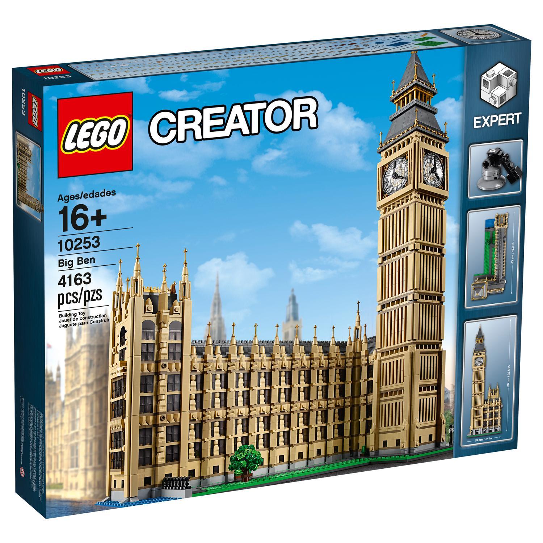 lego creator expert 10253 big ben building kit. Black Bedroom Furniture Sets. Home Design Ideas