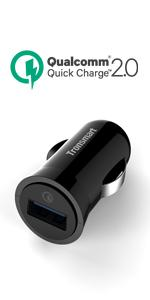 Tronsmart Quick Charge 2.0 Rapid 1 Port Car Charger
