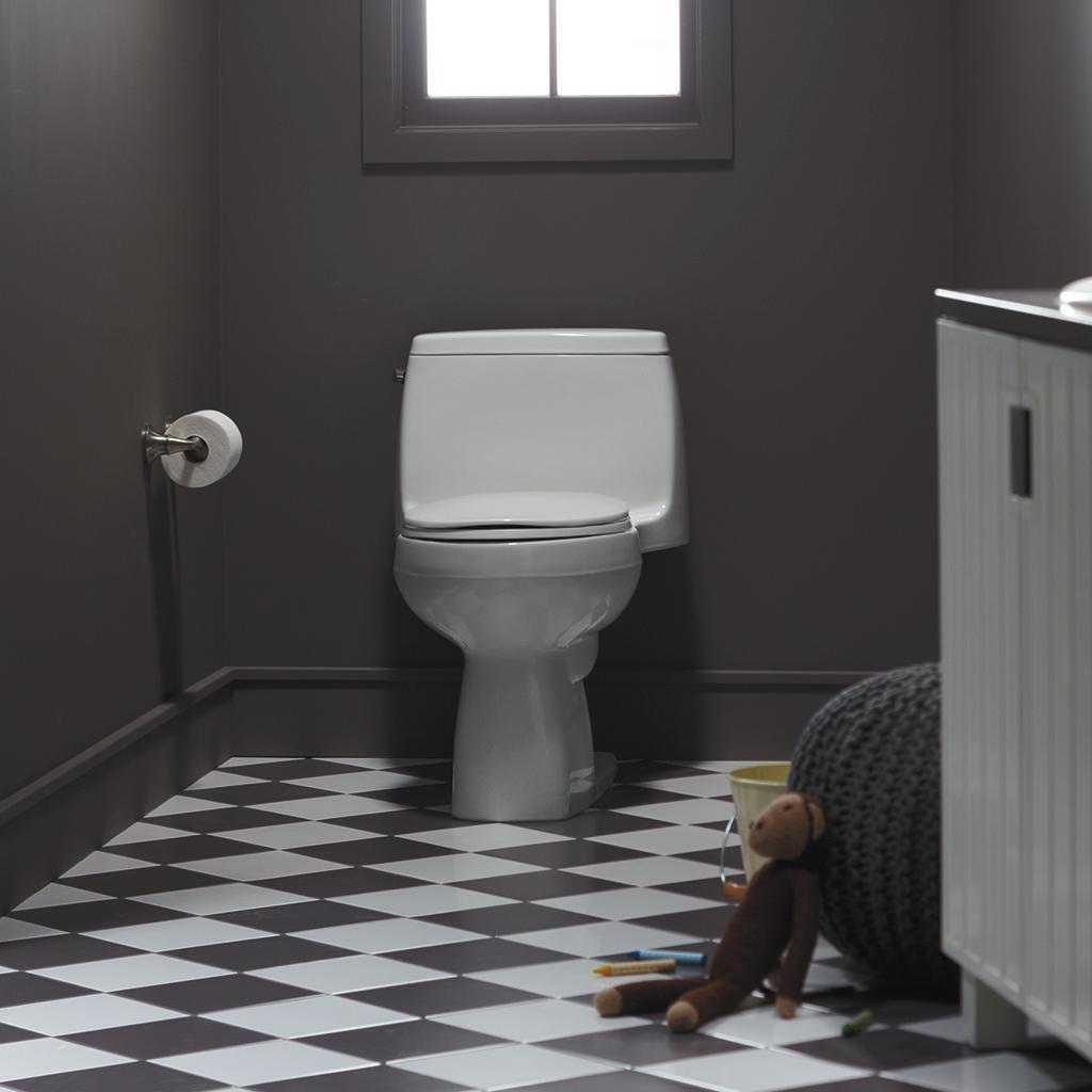 8dac6a87efc Kohler 3811-0 Santa Rosa Comfort Height Elongated 1.6 GPF Toilet ...