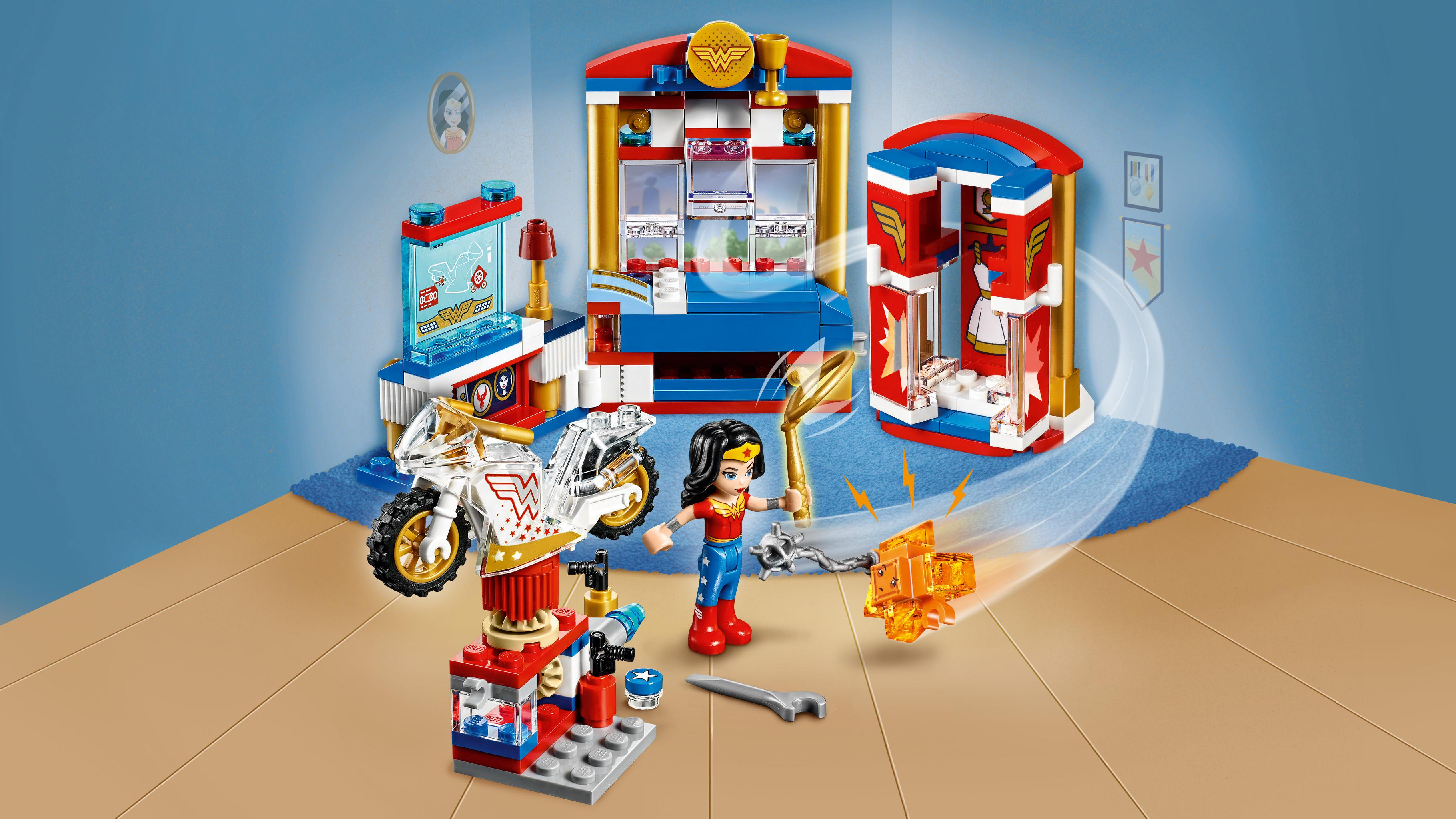 lego wonder woman dorm instructions