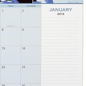 AT-A-GLANCE, desk pad, motivational desk pad, motivational panoramic monthly calendar desk pad