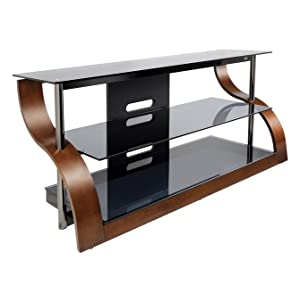 bell 39 o cw343 52 tv stand for tvs up to 55 espresso home audio theater. Black Bedroom Furniture Sets. Home Design Ideas