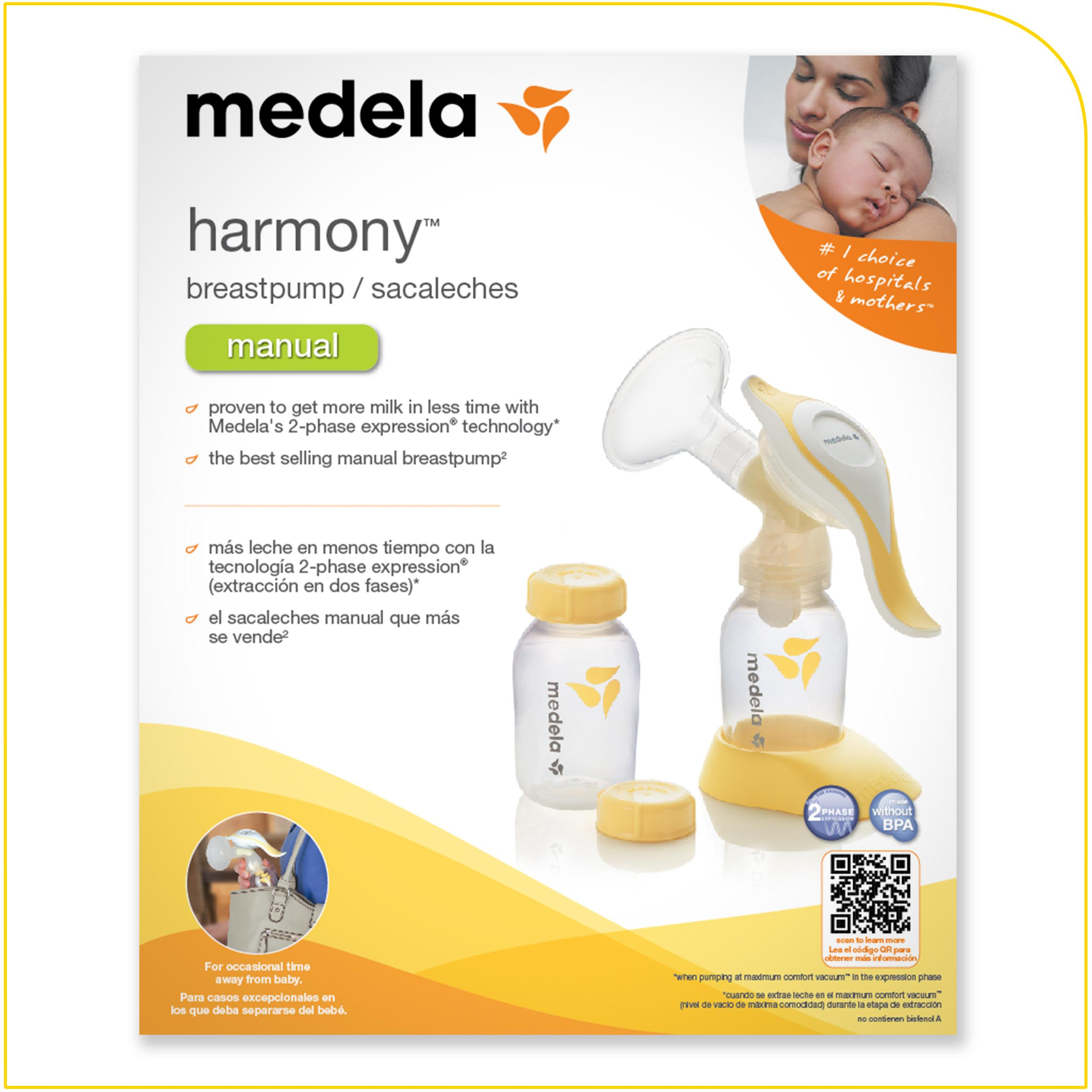 Amazoncom  Medela Harmony Manual Breast Pump  Manual -2896