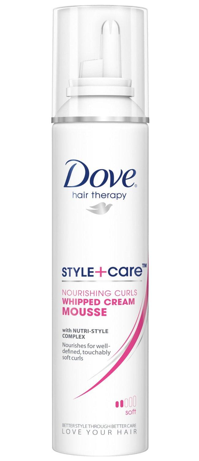 dove hair therapy style care dove style care curls defining mousse soft 7908