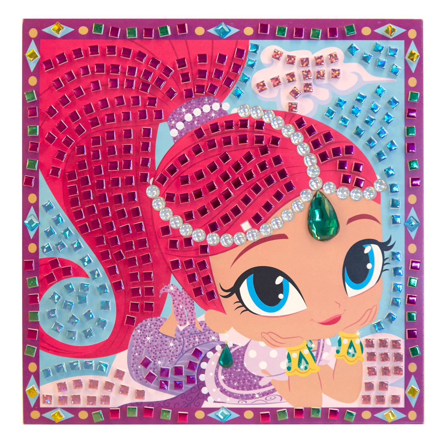 Shimmer and shine sparkle mosaics toys games - Sparkle and shine cartoon ...