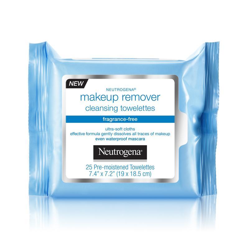 Amazon.com: Neutrogena Cleansing Makeup Remover Facial Wipes ...