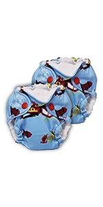 newborn cloth diaper liljoey kanga care rumparooz