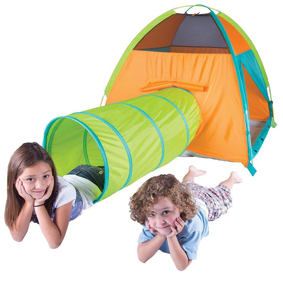 how to connect tents together