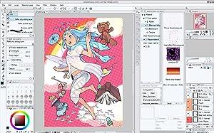 clip studio, manga studio, drawing software