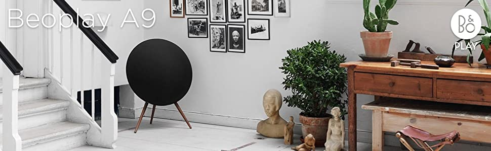 Beoplay A9, B&O PLAY A9, Bang & Olufsen, Wireless Speaker