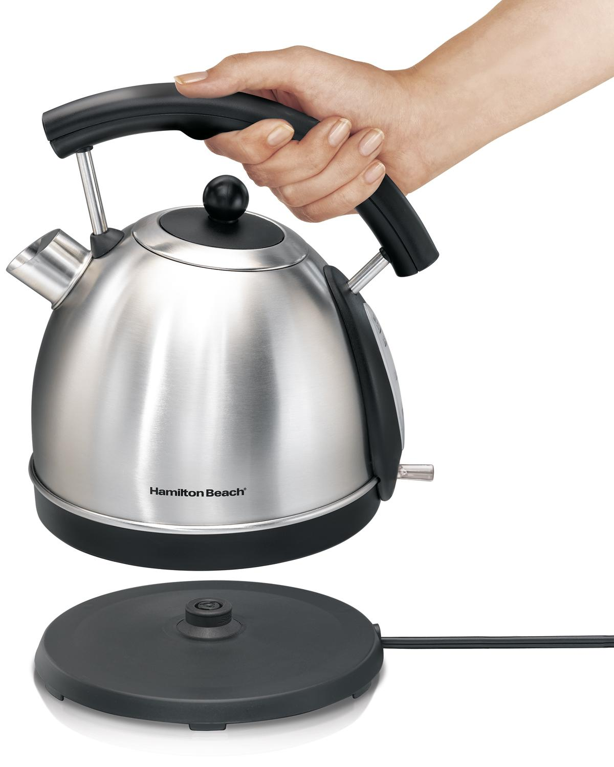 Top Rated Electric Water Kettle ~ Amazon hamilton beach l stainless steel electric