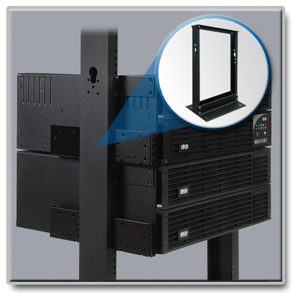 Amazon Com Tripp Lite 13u 2 Post Open Frame Rack Network