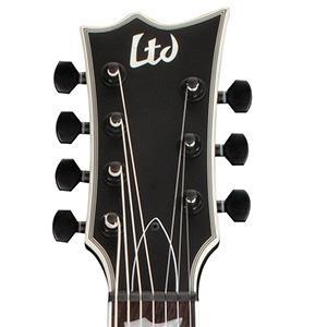 Amazon.com: ESP LTD EC-407 7-String Electric Guitar Black Satin ...