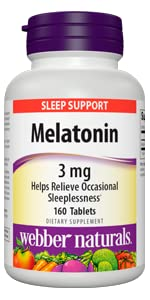 Melatonin 3 mg ...